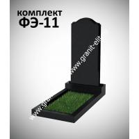 Надгробие из гранита  ФЭ-11, эконом, высота 1000 мм